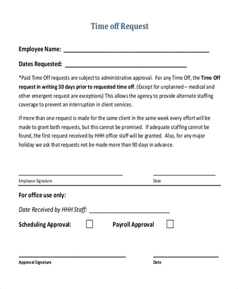 How To Request Time Off From Work Email Sle Results Career Faqs Request Time Email Template