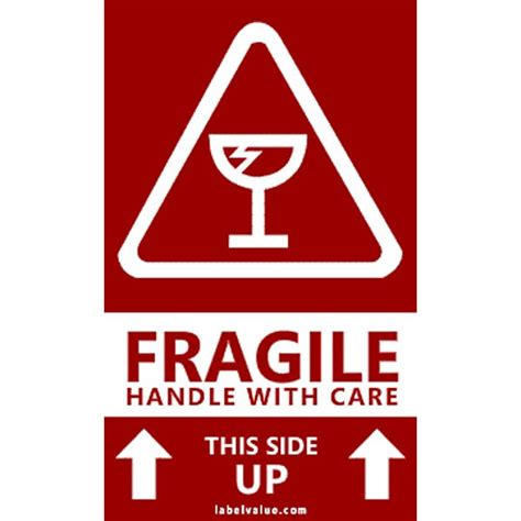 shipping label fragile handle with care handle with care labels free shipping
