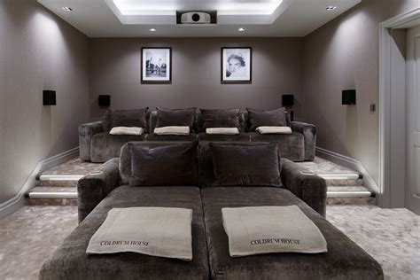 movie room recliners luxury home theatre with some rather special home cinema