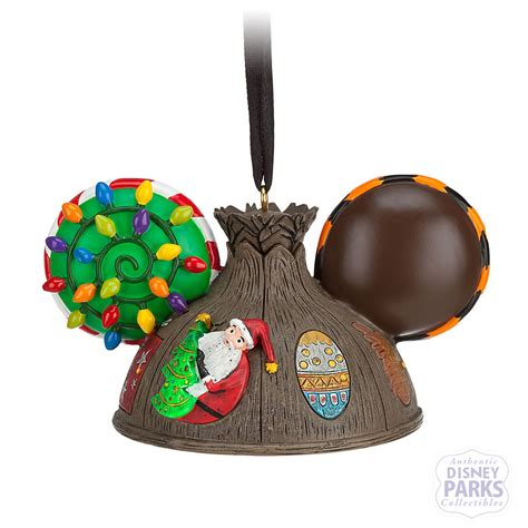 disney parks nightmare before christmas ear hat ornament