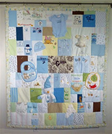 Diy Baby Clothes Quilt by 1000 Ideas About Baby Memory Quilt On Memory
