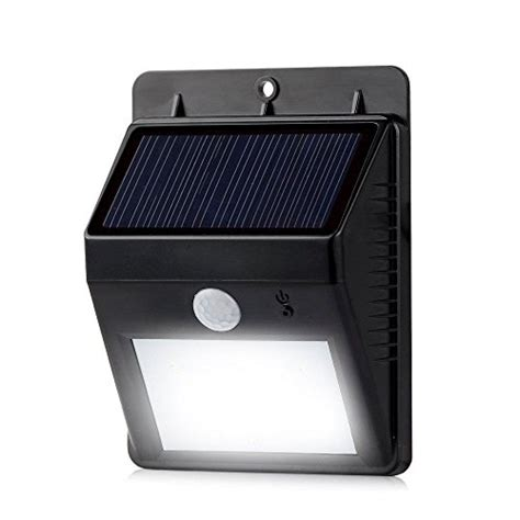 Best Wireless Outdoor Motion Sensor Light Solar Powered Security Floodlights Motion Activated Lights Wireless Outdoor Light 80 Lumen