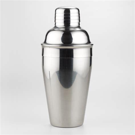 martini shaker stainless steel cocktail shaker world market