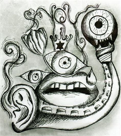 drawing drawing trippy drawing by martavilao on deviantart
