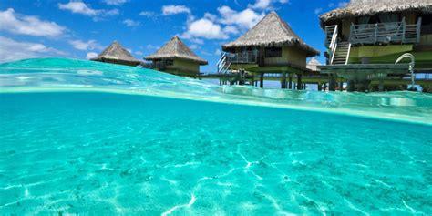 Dining Room Table Setting by Intercontinental Bora Bora Le Moana Resort Honeymoon