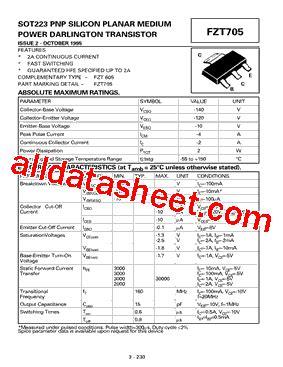 diodes inc ta suffix fzt705ta datasheet pdf diodes incorporated