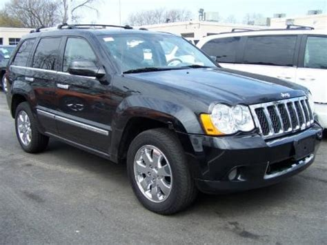 2008 Jeep Grand Specs 2008 Jeep Grand Overland 4x4 Data Info And Specs