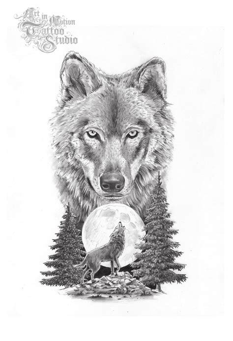 wolf tattoo on arm tattoo collection