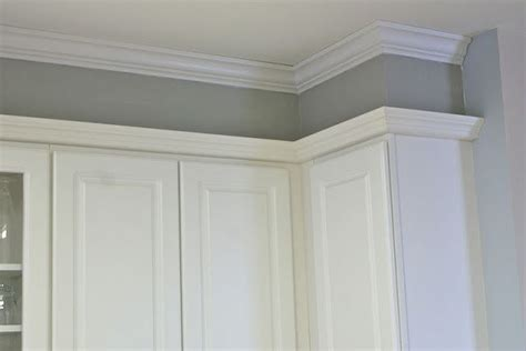 Idea If We Have To Keep The Soffit Kitchen Pinterest Kitchen Soffit Crown Molding