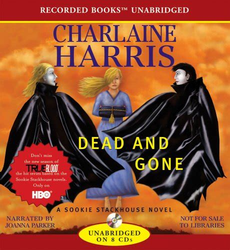 Charlaine Harris Dead And Version Book sookie stackhouse audio books audio books andy mcnab