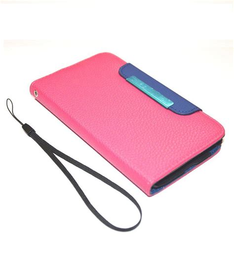 Xperia M Flip Cover Pink rka sony xperia m c1904 c1905 leather flip cover