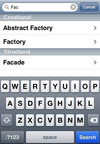 pattern search website design patterns