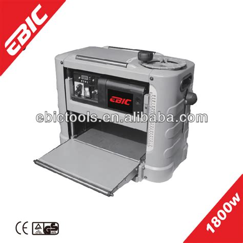 Ebic Power Tool Thickness Planer Used 1800w Thickness