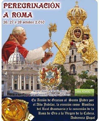 prefetto della casa pontificia real hermandad virgen de la cabeza de m 225 laga octubre 2010