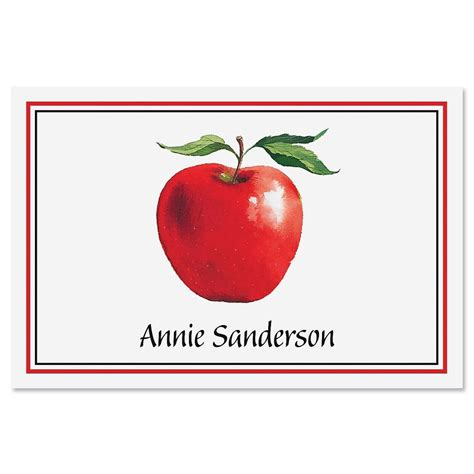 Apple Gift Card 5 - apple personalized note cards current catalog