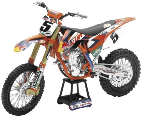 toy motocross new ryan dungey red bull ktm 450sxf toy replica dirt bike