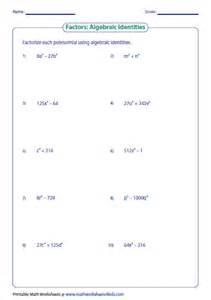 factoring review worksheet virallyapp printables worksheets
