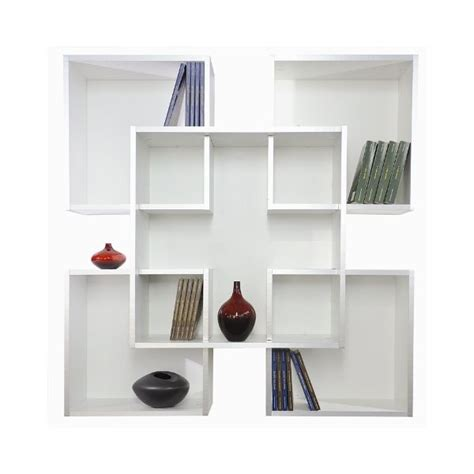 immagini librerie moderne libreria da muro scaffale a parete moderno in legno tato