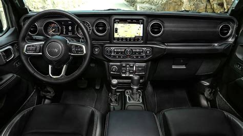 jeep wrangler overland interior new jeep wrangler in europe with 200 hp diesel model