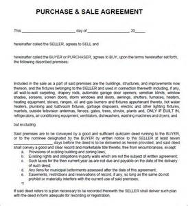 Business Agreement Sle Letter by Sales Agreement 6 Free Pdf Doc