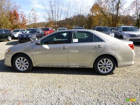 Toyota Camry Creme Brulee 2014 Creme Brulee Metallic Toyota Camry Xle 87568807