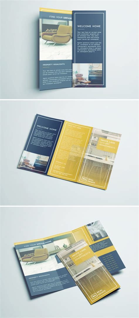 indesign cs5 templates free tri fold brochure free indesign template