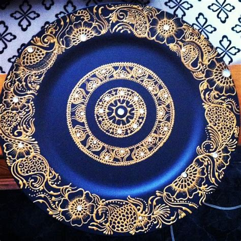 henna design plate gold henna plate design gold henna plate design
