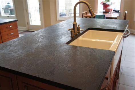 Soapstone Worktop Dorado Soapstone Installed Kitchen