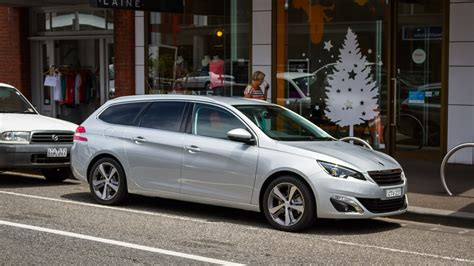 peugeot silver 2015 peugeot 308 allure touring week with review