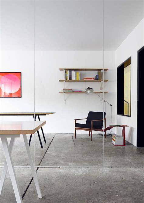A stunning modern workspace Wooden Simple Sofa Chair