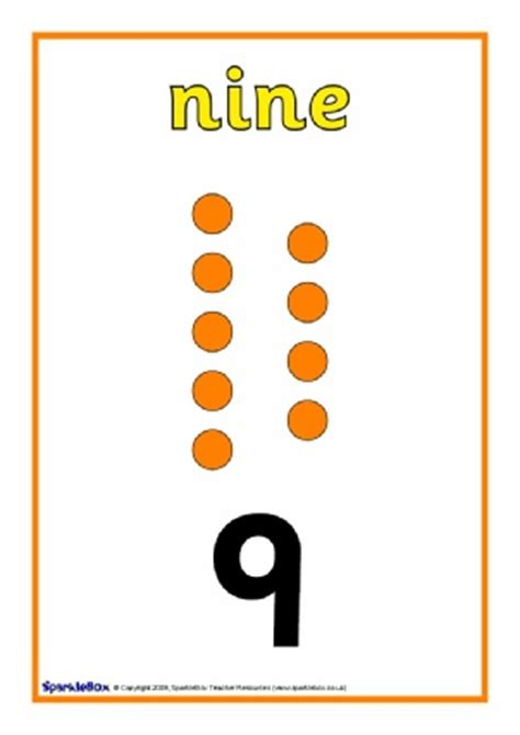 printable numbers sparklebox printable number posters and friezes for primary school