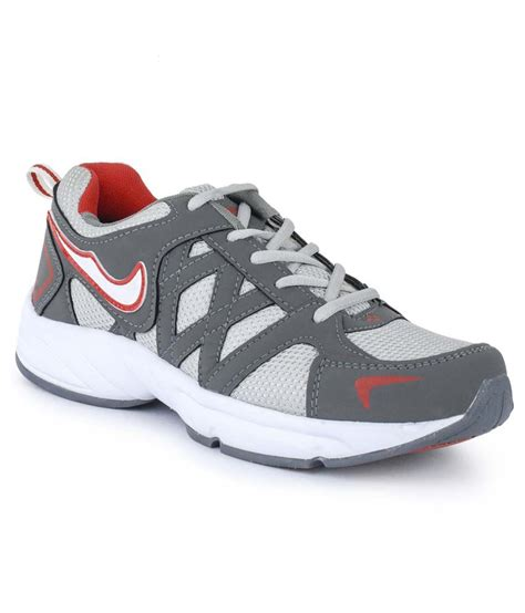 n sport shoes foot n style gray running sport shoes price in india