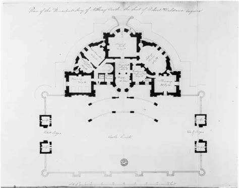 Manor House Floor Plan robert adam and airthrey castle design
