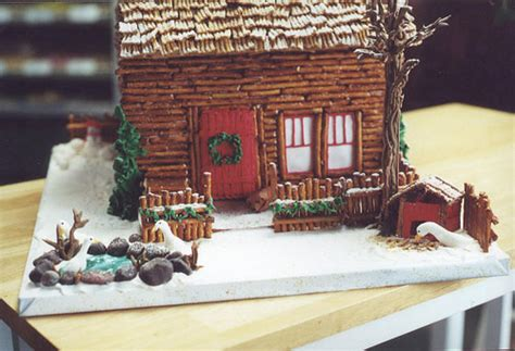 gingerbread log cabin template sweet tea and thursday 13 gingerbread houses