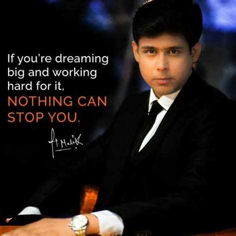 if you re dreaming big if you re dreaming big and working for it nothing
