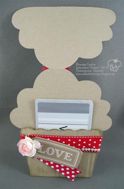 Cupcake Gift Card Holder - addinktive designs a cupcake gift card holder for valentine s day