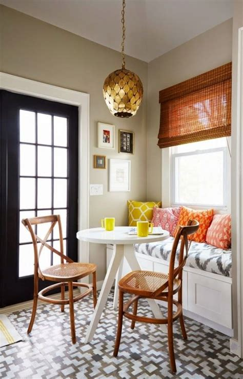 small home decorations 40 cute and cozy breakfast nook d 233 cor ideas digsdigs
