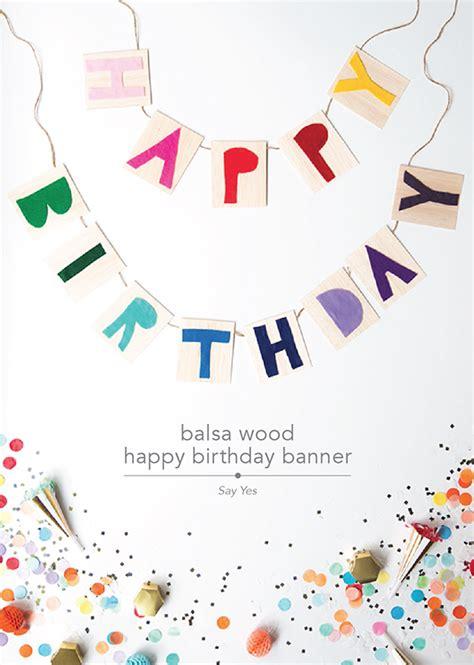 design happy birthday banner 10 may diys design crush