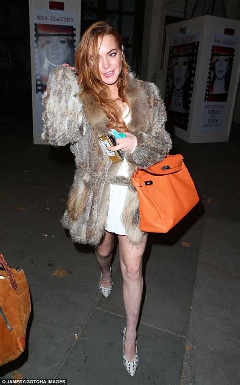 Lindsay Lohan Is A Tiger In The Sack by Lindsay Lohan Following Speed The Plow Performance Awaits