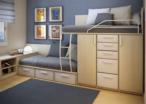 space saving bedroom small home design to maximise use of space interior