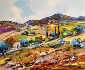 tableau peinture huile paysage 2