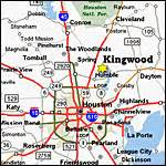 map of kingwood texas kingwood map
