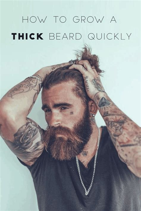 3 ways to grow a thicker beard wikihow thick beard quick solutions to grow a thicker beard in no time