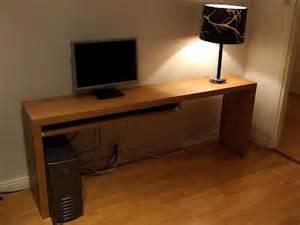 Slim Computer Desk Slim Computer Desk Para A Casa