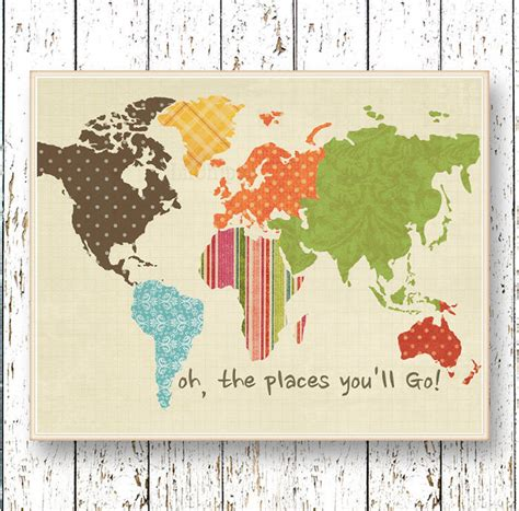 Childrens Bedroom Wall Stickers 40 creative remakes of the world map hongkiat
