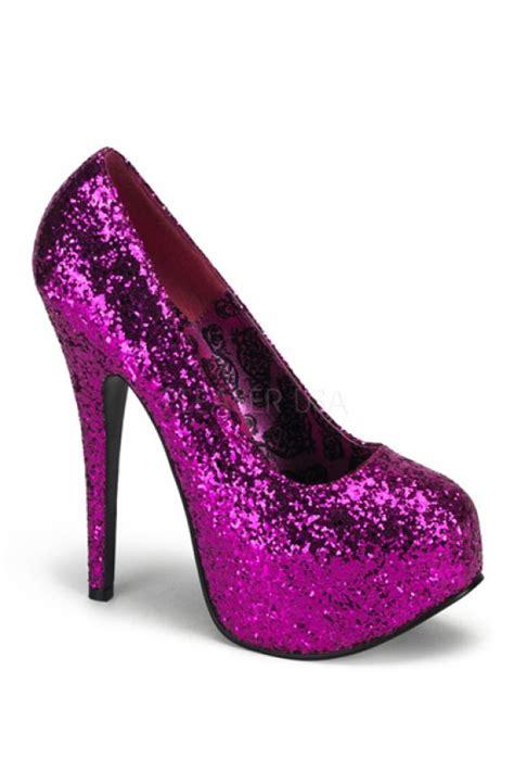 glitter pink high heels pink glitter platform heels heel shoes