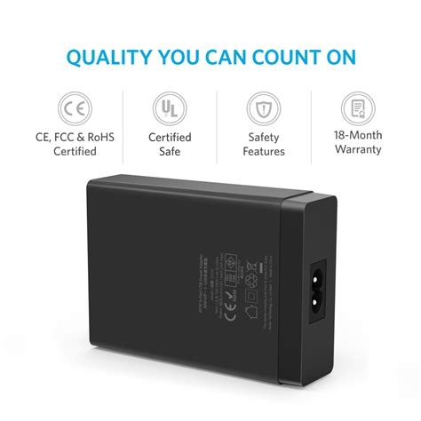 anker 60w 6 family sized desktop usb charger and anker 60w 6 family sized desktop usb charger active