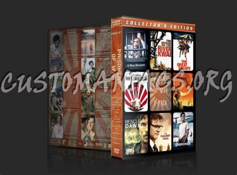 prisoners  war  pack dvd cover dvd covers labels  customaniacs id
