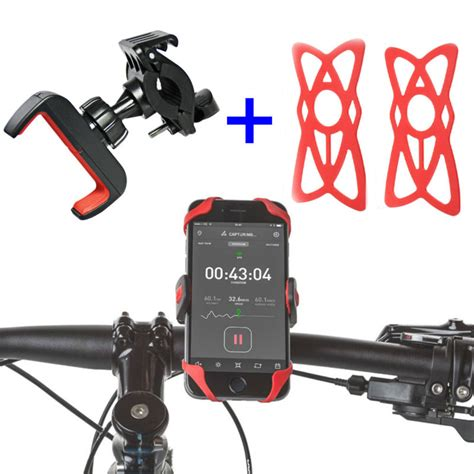 Bike Phone Holder By Paceshop22 chnlan universal mountain bicycle mobile phone holder 55mm