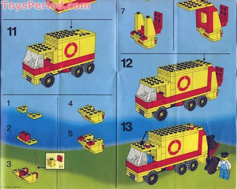 truck instructions 6693 refuse collection truck set parts inventory and